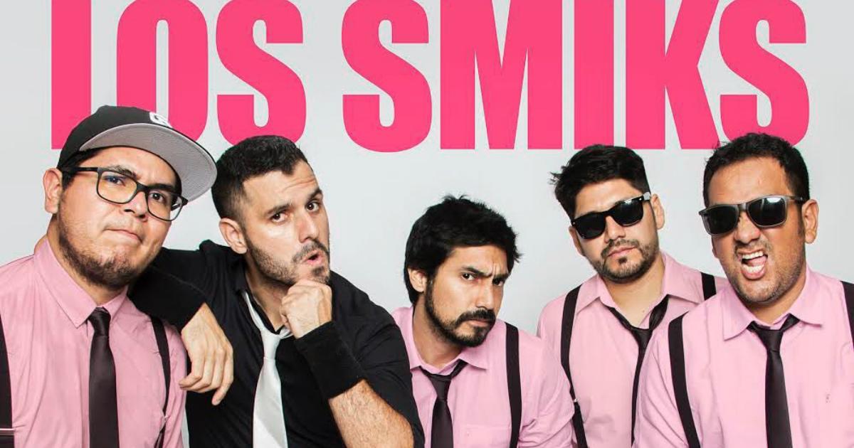 Los Smiks, la nueva 'súper banda' peruana que debes conocer