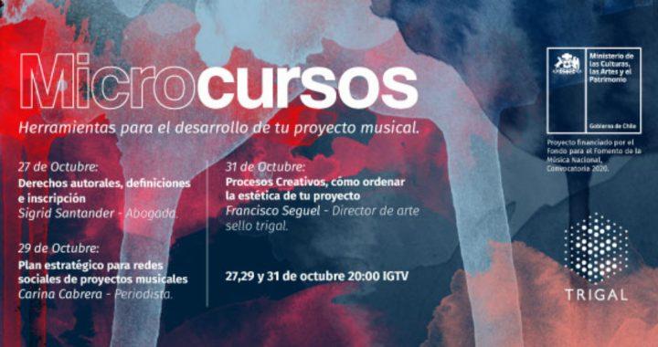 Sello Trigal realiza microcursos gratuitos para músicos y músicas de Latinoamérica
