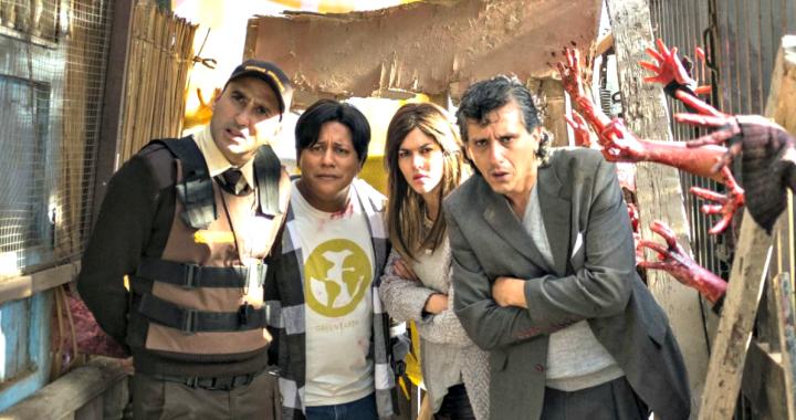 Aj! Zombies lleva el apocalipsis de los muertos vivientes a las calles de Lima