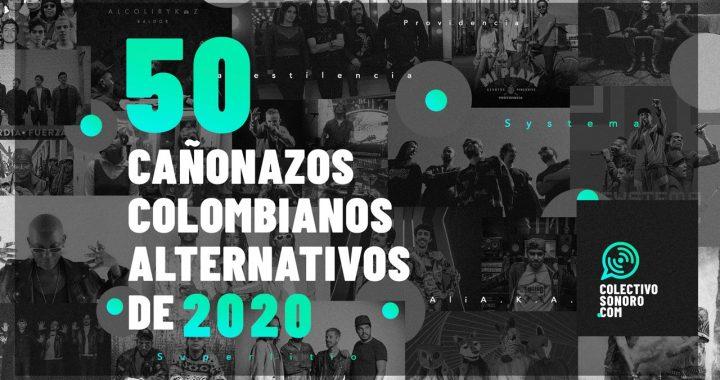Conoce las 50 canciones colombianas alternativas más importantes de 2020