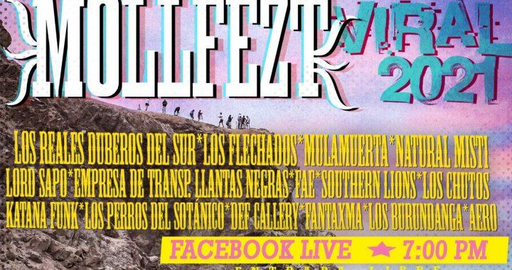 MollFezt Viral: 15 bandas de Mollendo y Arequipa se unen para su primera edición virtual