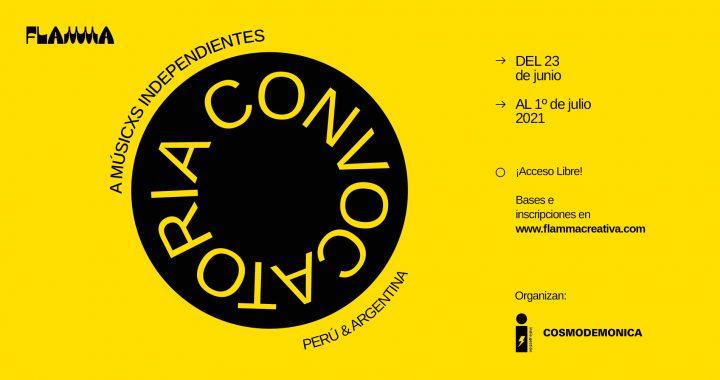 FLAMMA CONVOCATORIA a músicxs independientes Perú y Argentina