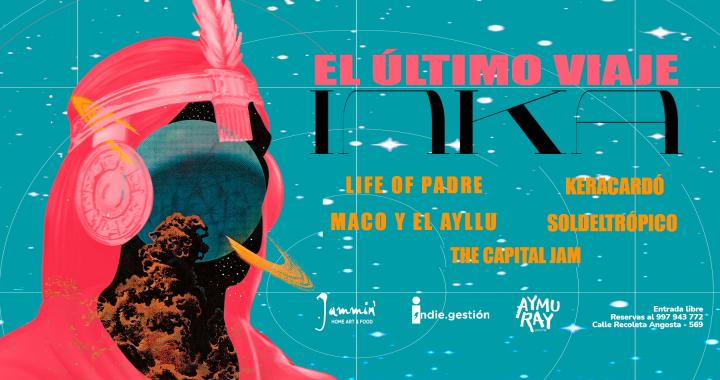El último viaje Inka: Life of Padre presenta disco con una gira en Cusco
