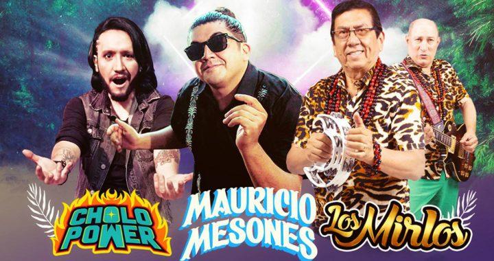 Noche de cumbia con Los Mirlos, Mauricio Mesones y Cholopower