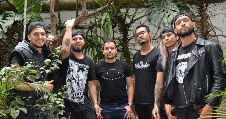 La banda colombiana María Juana No Se Ha Muerto presenta 'Antimilitar'